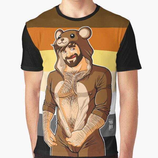 ADAM LIKES TEDDY BEARS - BEAR PRIDE Graphic T-Shirt