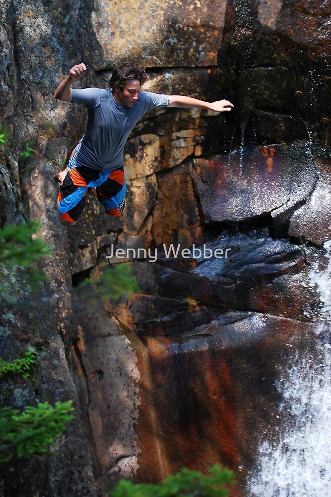 Smalls Falls Leap of Faith #7 by Jenny Webber