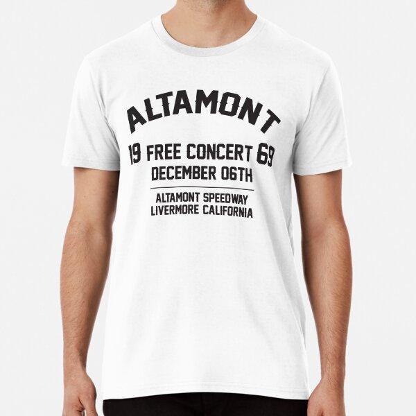Altamont free concert  Festival 1969 Premium T-Shirt