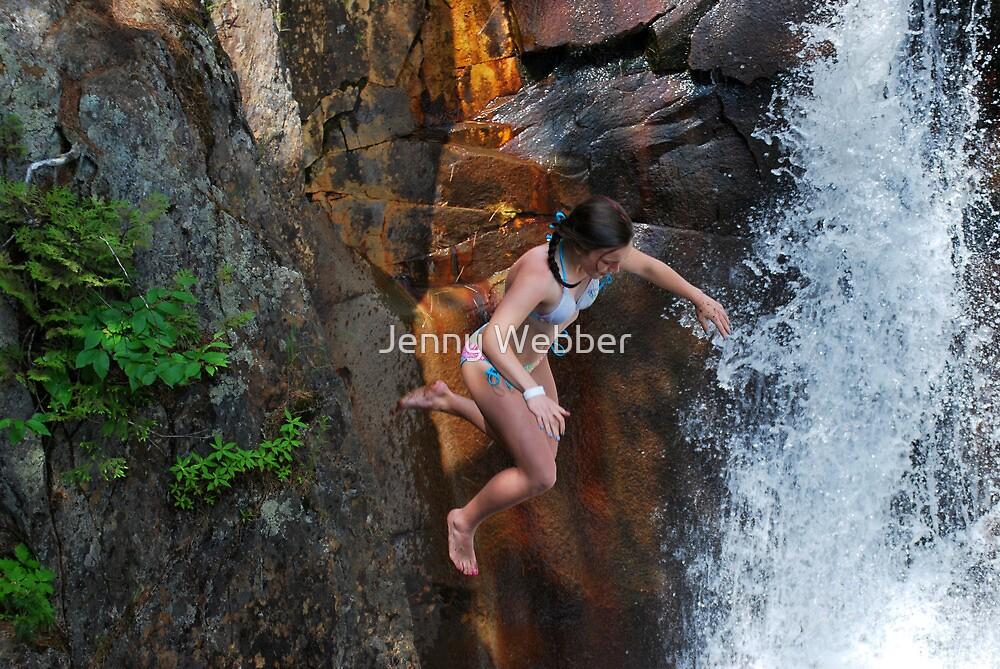 Smalls Falls Leap of Faith #15 by Jenny Webber