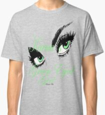 karma arts uk - Karmas Green Eyed Girl Classic T-Shirt