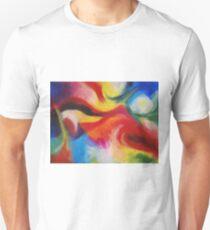 """Fiesta Nocturna"" original abstract landscape by Laura Tozer Unisex T-Shirt"