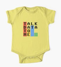 Talk Data To Me One Piece - Short Sleeve