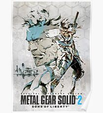 Metal Gear Solid 2 poster Poster