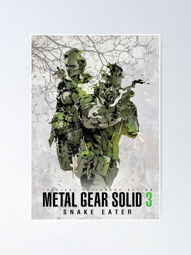 Metal Gear Solid 4 Playstation Giant Wall Art Poster Print