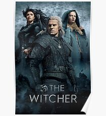 The Witcher Netflix Release Poster