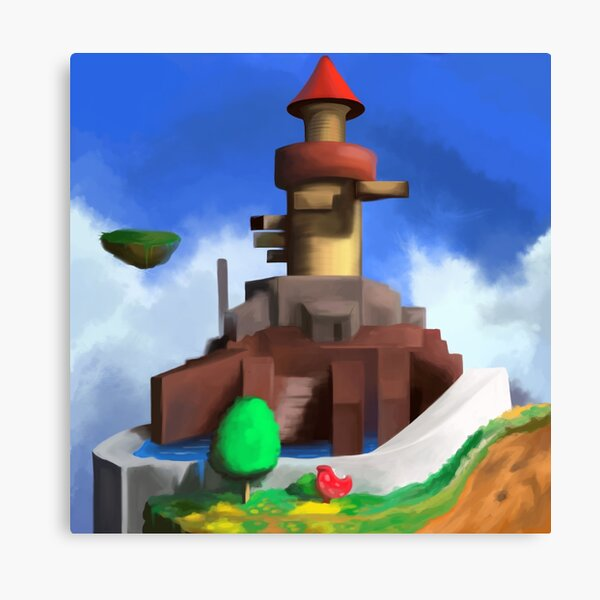 Whomp's Fortress Canvas Print