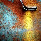 Rusted Water Stain 2 by Robert Goulet