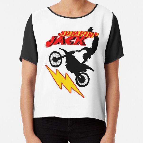Femmes Manches Courtes Fille T-Shirt Motocross Freestyle Cascades astuces sport automobile