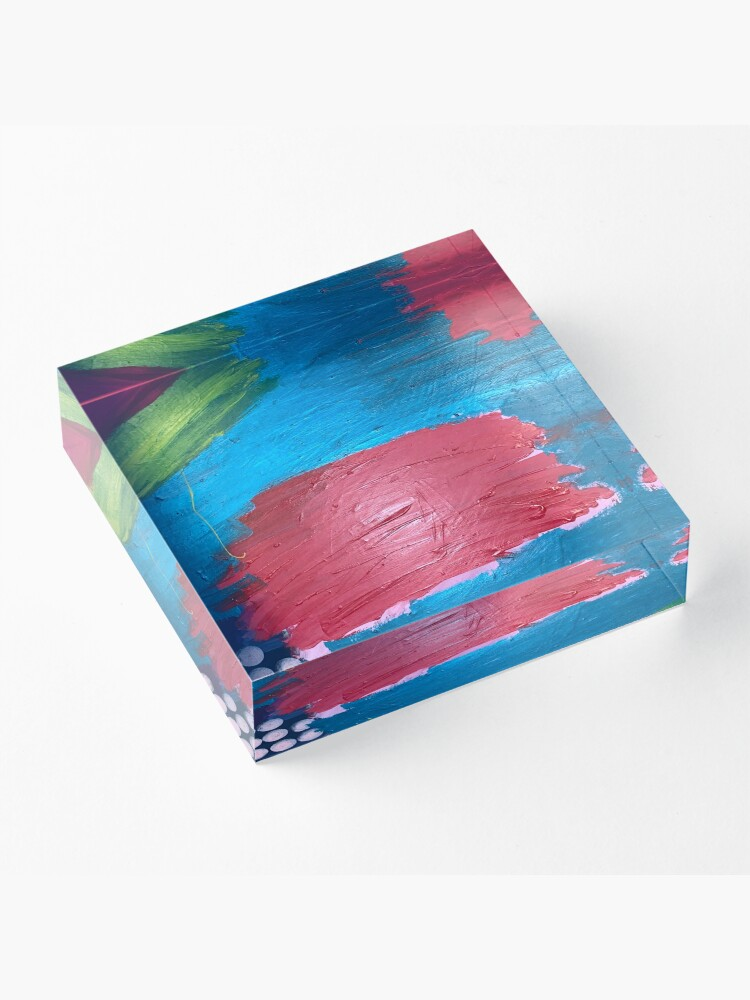 Alternate view of The Journey Between Trauma and Recovery Acrylic Block