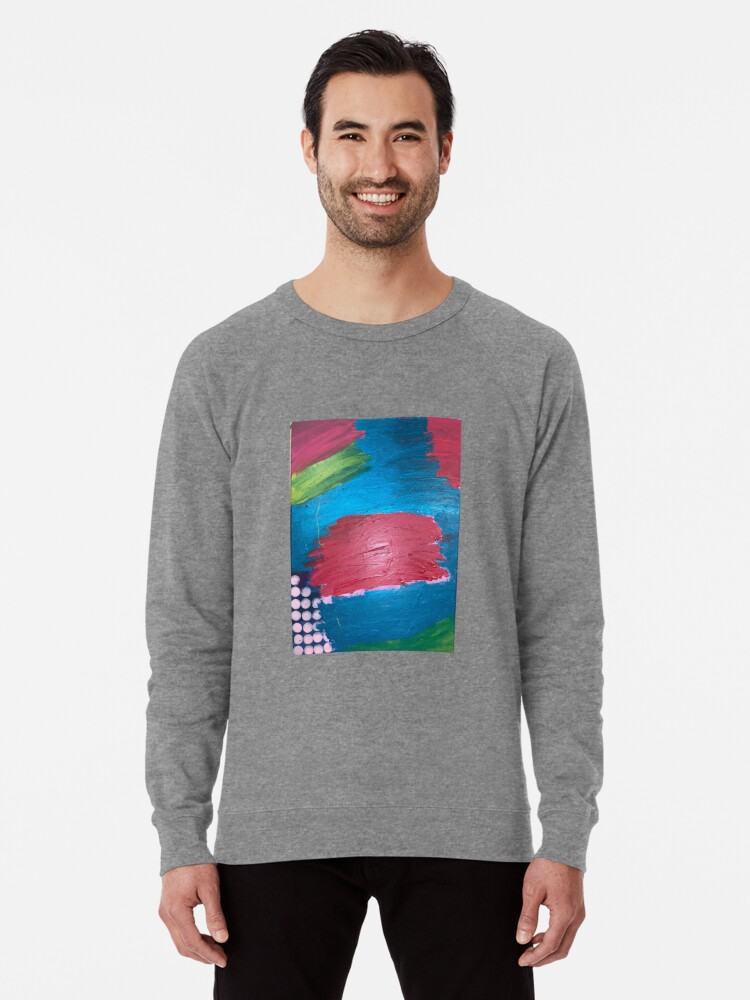 Alternate view of The Journey Between Trauma and Recovery Lightweight Sweatshirt