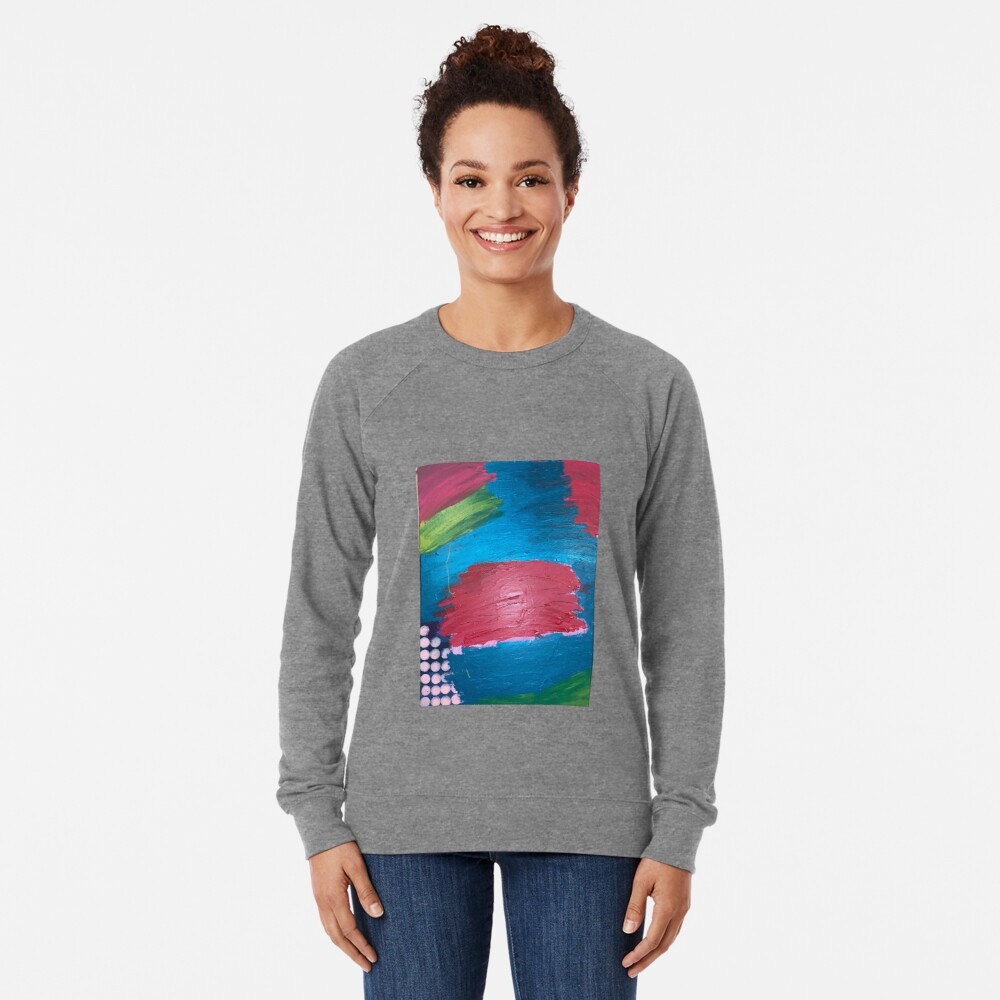 The Journey Between Trauma and Recovery Lightweight Sweatshirt