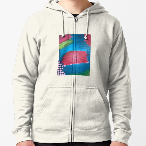 The Journey Between Trauma and Recovery Zipped Hoodie