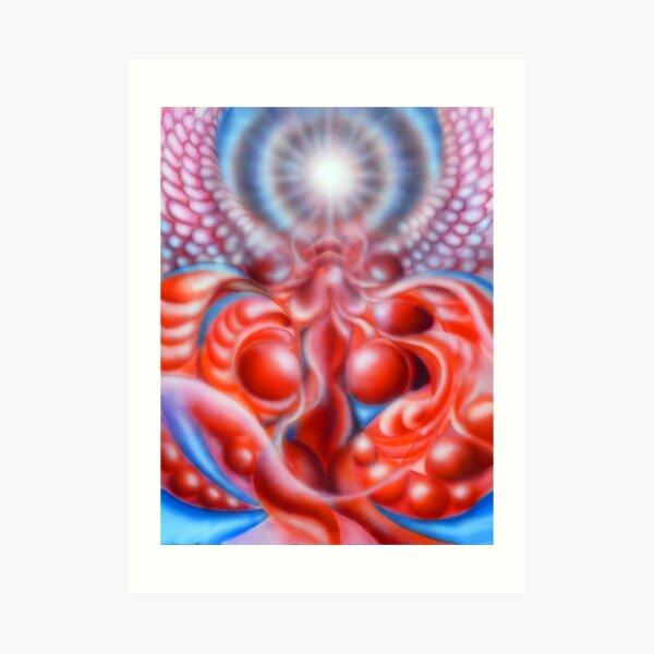 Cellular Evolution Art Print
