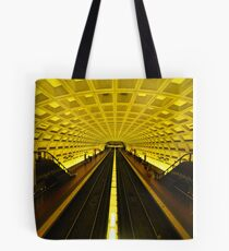Gold Tunnel in D.C. Tote Bag