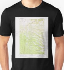 USGS Topo Map Oregon Sugarbowl Creek 281671 1969 24000 Unisex T-Shirt