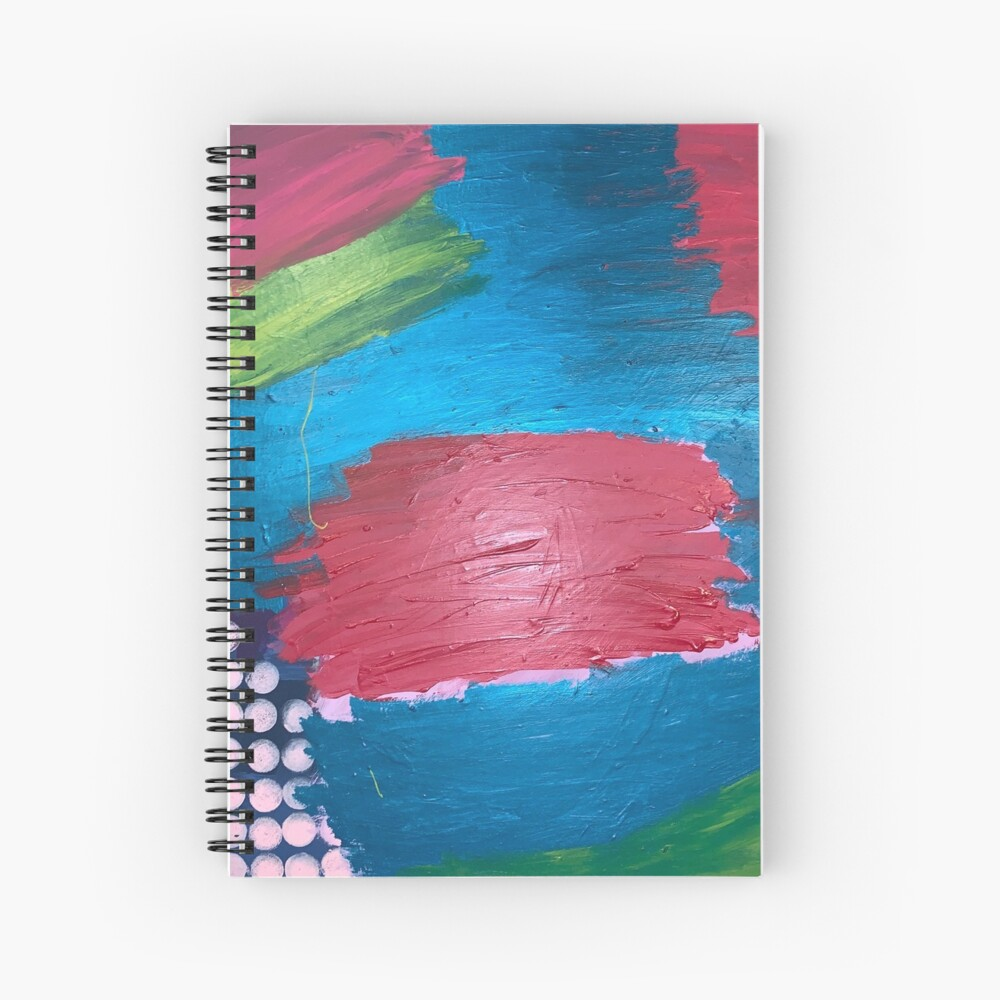 The Journey Between Trauma and Recovery Spiral Notebook