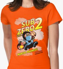 Super SubZero Bros. 2 Womens Fitted T-Shirt