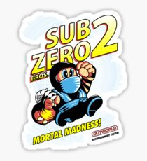 Super SubZero Bros. 2 Sticker