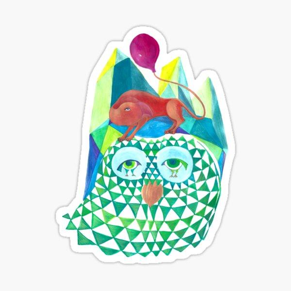 Owl Always Be With You Sticker