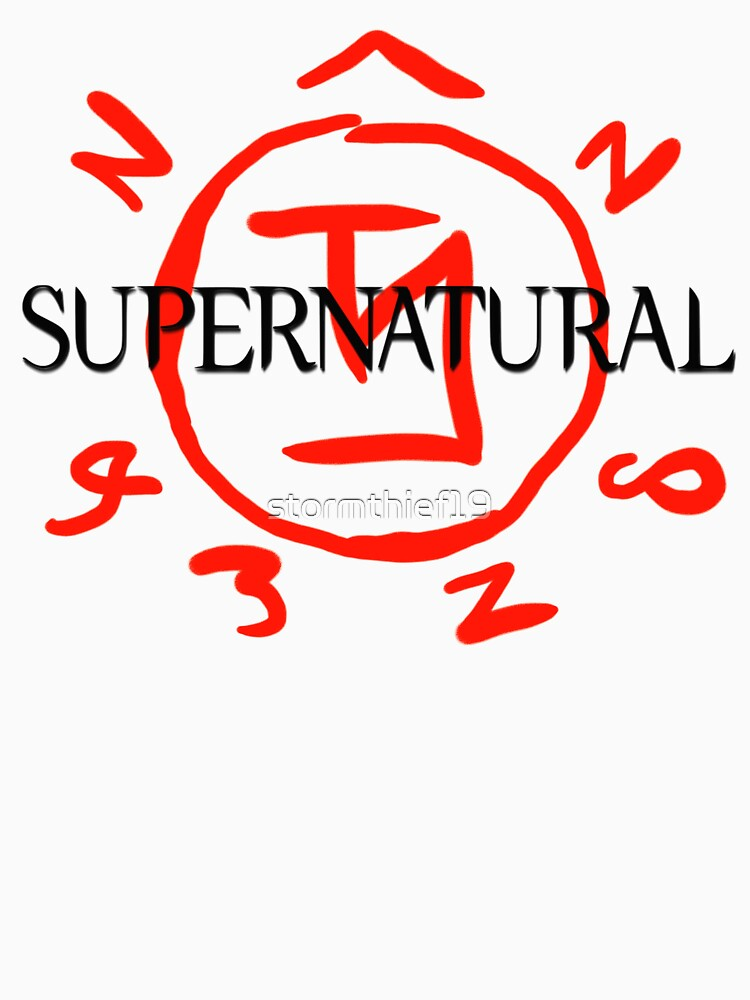 Supernatural Angel Warding Unisex T Shirt By Stormthief19 Redbubble