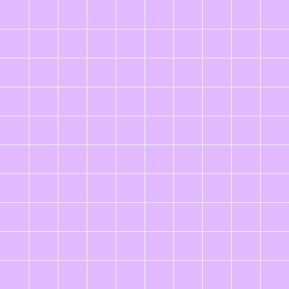 Pastel Purple Grid Print by idlevictoria