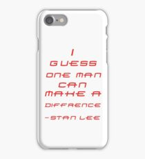 Stan Lee iPhone Case/Skin