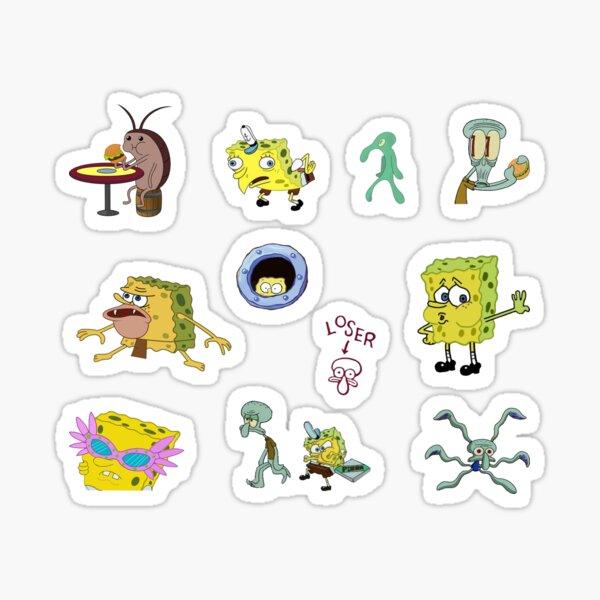 Spongebob Sticker Pack Sticker