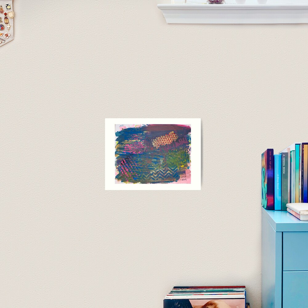 Layer by Layer  Art Print