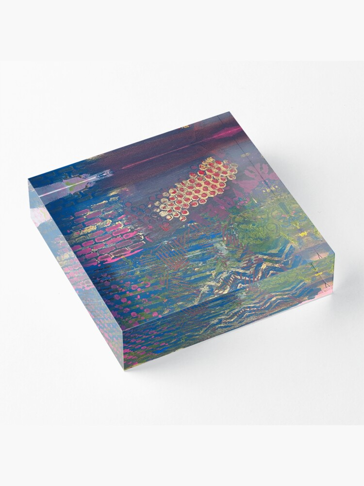Alternate view of Layer by Layer  Acrylic Block