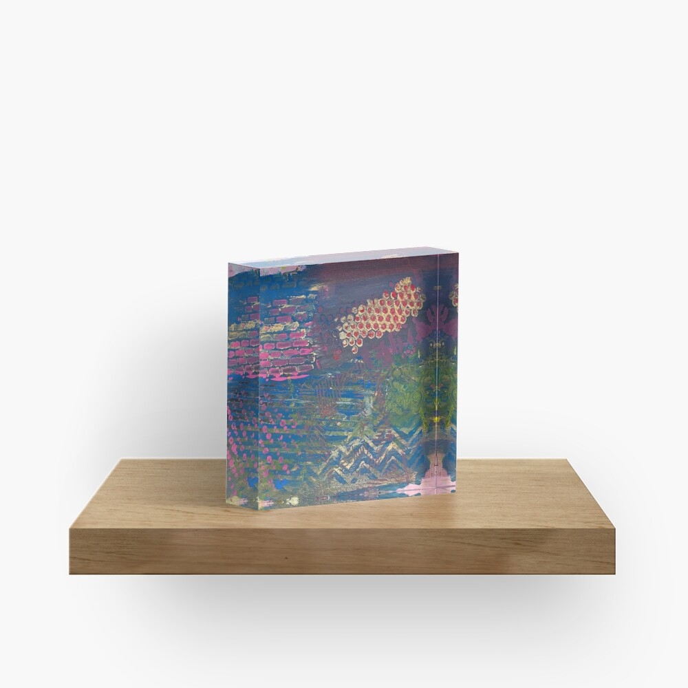 Layer by Layer  Acrylic Block