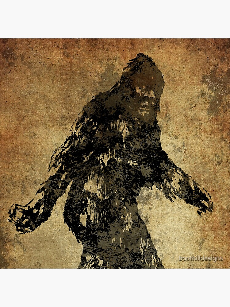 Sasquatch by boothilldesigns