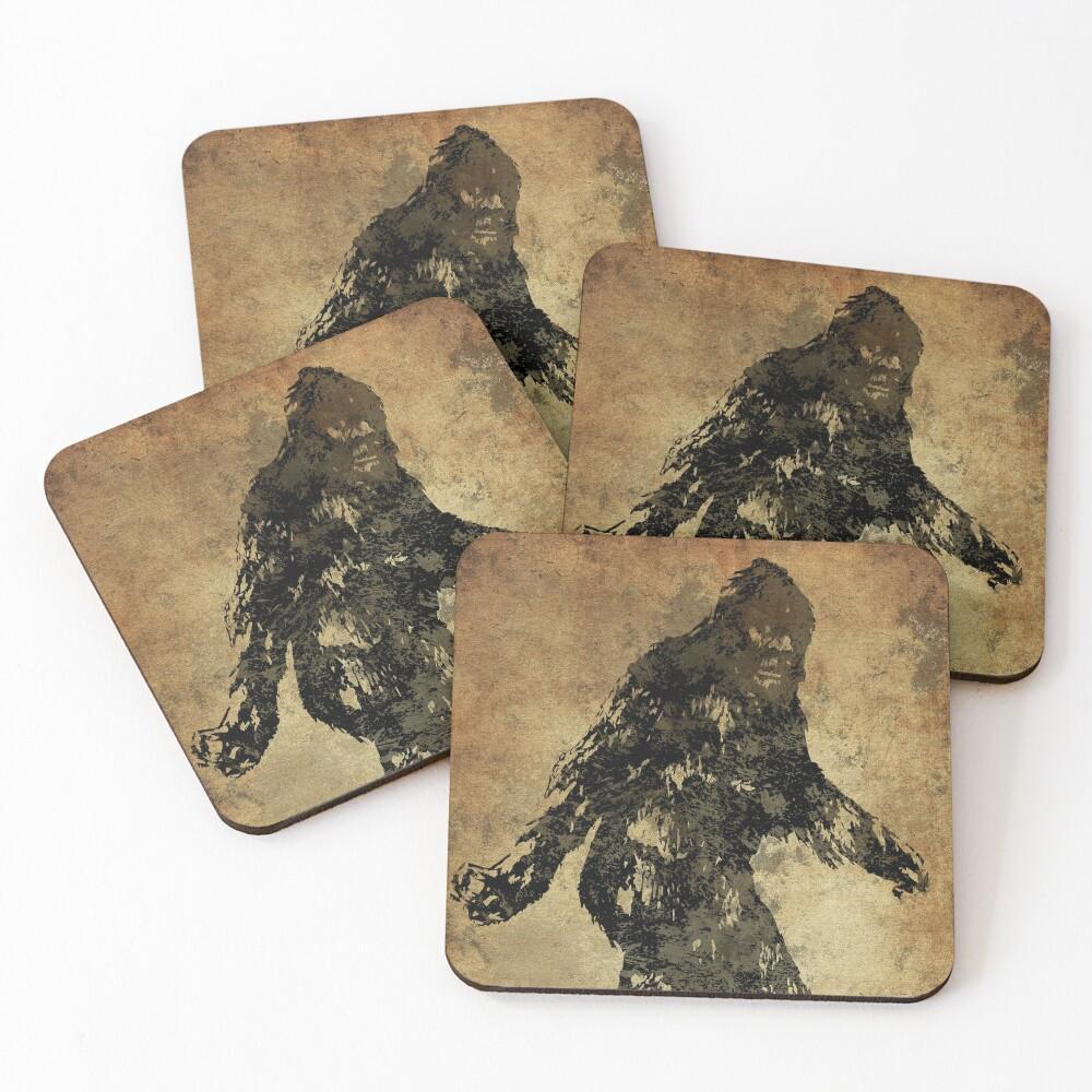 Sasquatch Coasters (Set of 4)
