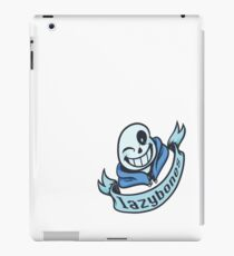 Lazybones - 8-bit SANS iPad Case/Skin