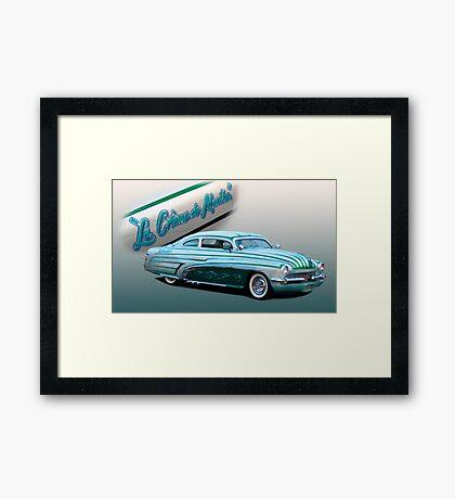 """""""La Creme de Menthe"""" Framed Print"""