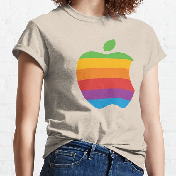 Retro Apple logo Classic T-Shirt