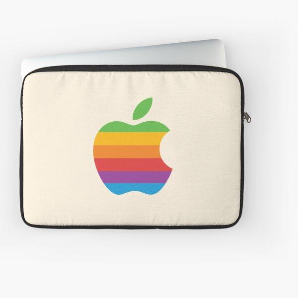 Retro Apple logo Laptop Sleeve