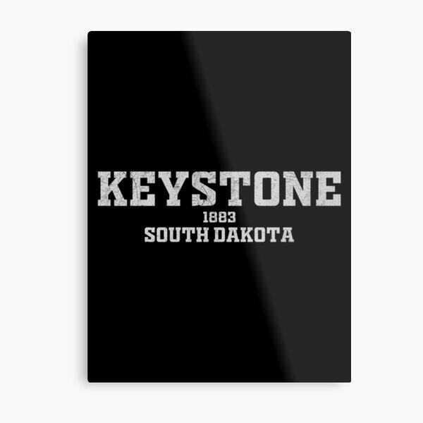 Keystone South Dakota Metal Print