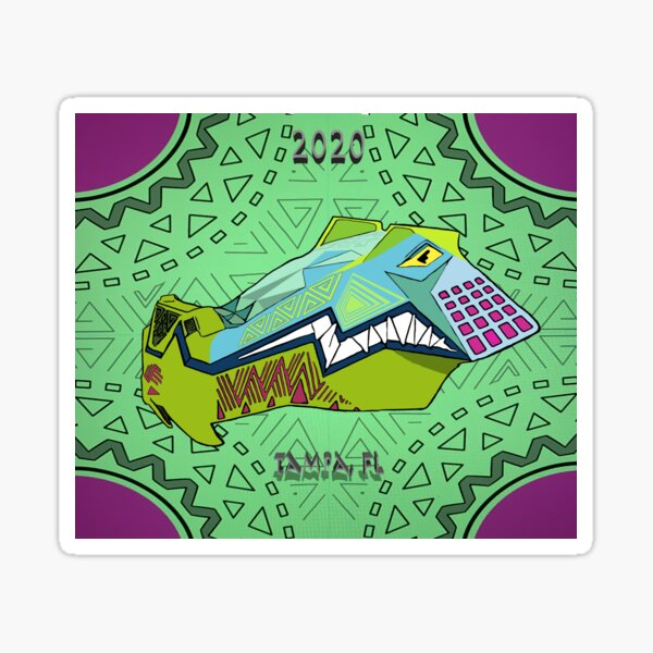 iron Gwazi poster Sticker