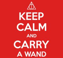 Keep Calm and Carry a Wand T-Shirt