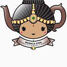Masala Chai Teapot by Bubble Doll