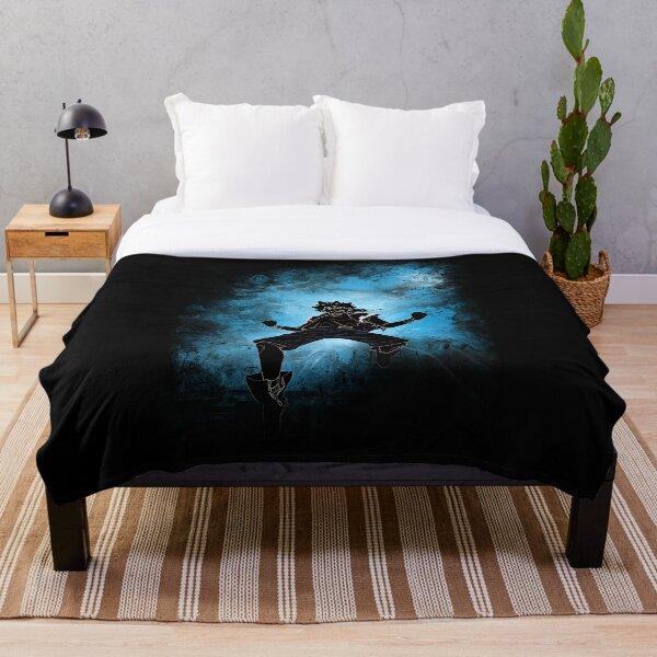 wizard awakening Throw Blanket