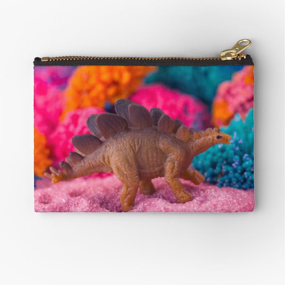 Dino on an Alien Planet Zipper Pouch