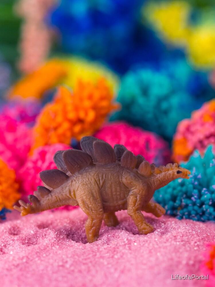 Dino auf einem fremden Planeten von LifeofaPortal