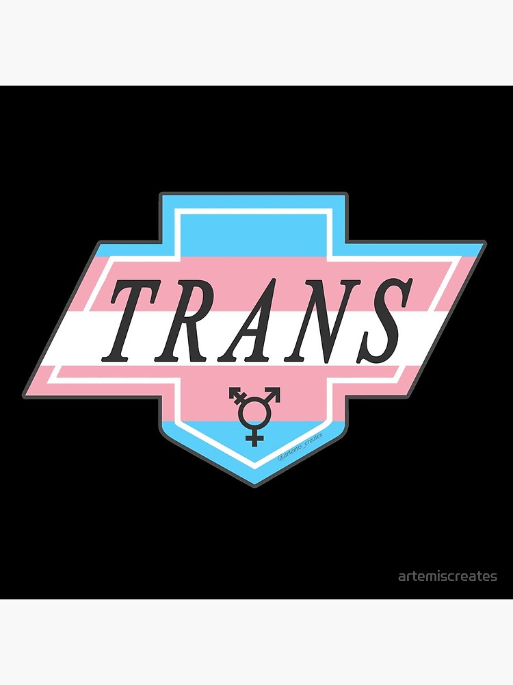 Identity Badge: Transgender by artemiscreates