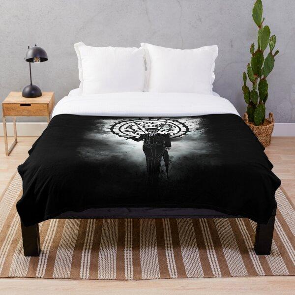devil awakening Throw Blanket