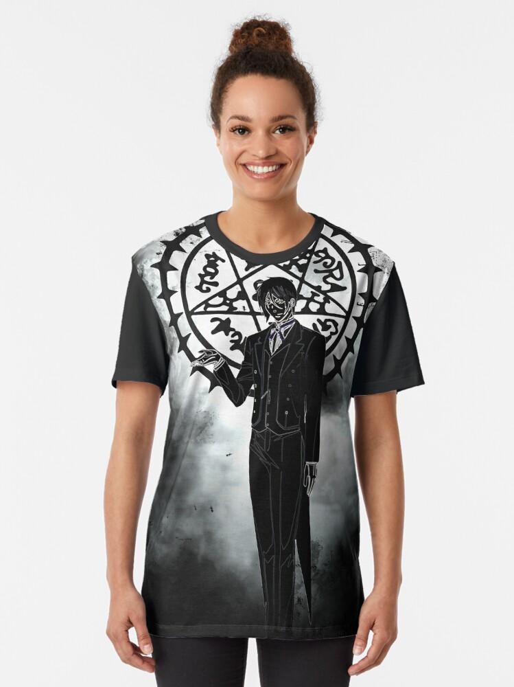 Alternate view of devil awakening Graphic T-Shirt