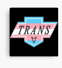 Identity Badge: Transgender Canvas Print
