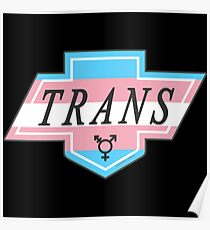 Identity Badge: Transgender Poster