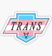 Identity Badge: Transgender Sticker